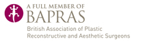 A Full Member of BAPRAS, The British Association of Plastic and Reconstructive Asthetic Surgeons